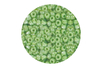 Perles de rocaille nacrées 150 gr - vert clair - Perles de rocaille 11194 - 10doigts.fr