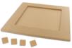 Dessous de plat carré pour Mosaïques - Plateaux en bois 08007 - 10doigts.fr