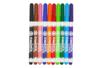 Marqueurs textiles pointe fine - 10 couleurs - Peintures et marqueurs pour tissus - 10doigts.fr