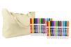 PROMO : 24 marqueurs textile + CADEAU d'un sac de plage - Peintures et marqueurs pour tissus 10217 - 10doigts.fr