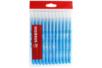 Recharge schoolpack STABILO power Bleu Clair - x 12 feutres  - Feutres Larges 37052 - 10doigts.fr
