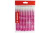 Recharge schoolpack STABILO power Rose - x 12 feutres  - Feutres Larges 37054 - 10doigts.fr