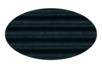 Carton  ondulé 50 x 70 cm noir - 1 rouleau - Carton ondulé 12242 - 10doigts.fr
