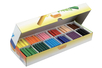 Maxi crayons cire ultra résistants - 300 crayons - Crayons cire 35050 - 10doigts.fr