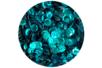 Sequins turquoise - Lot de 12000 sequins - Sequins - 10doigts.fr