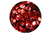 Sequins rouge Noël - Lot de 12000 sequins - Sequins - 10doigts.fr