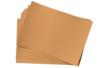 Papier Kraft naturel - Feuilles 21 x 29,7 cm (120 gr/m²) - 10 feuilles - Papiers Cadeaux 27910 - 10doigts.fr