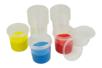 Pots hermétiques 125 ml - 10 pots - Palettes et rangements - 10doigts.fr
