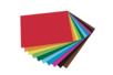 Cartes légères - dim : 21 x 29.7  cm, 100 feuilles (10 couleurs  assorties) - Papiers Unis - 10doigts.fr