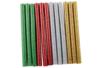 Bâtons de colle pailletés Ø 0,7cm - Lot de 12 - Colles scolaires 30202 - 10doigts.fr