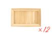 Cadre en bois rectangle - Lot de 12 - Cadres photos 05879 - 10doigts.fr