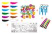 Gouache 1 Litre - 12 couleurs (essentielles + complémentaires) + CADEAUX  - Peinture Gouache 10 DOIGTS 31118 - 10doigts.fr