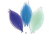 Feuilles en camaïeu bleu - Set de 20 - Fleurs et feuilles 13404 - 10doigts.fr