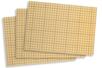 Cartes fortes double-face adhésives - 20 x 30 cm - Lot de 3 cartes - Feuilles en plastique 16467 - 10doigts.fr