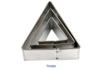 Emporte-pièces triangle - 3 tailles - Emporte-pièces 01558 - 10doigts.fr