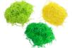 Herbe en frisettes de papier - 3 bottes (couleurs assorties) - Paille et Raphia 40667 - 10doigts.fr
