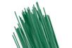 Tiges métal vert de fleuriste 30 cm - ø 0.8 mm - Lot de 35 - Activités en papier 07338 - 10doigts.fr