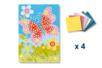 Tableau en mosaïques Papillon - Lot de 4 - Kits activités clés en main 19347 - 10doigts.fr
