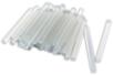 Bâtons de colle transparente Ø 0,7cm - Lot de 40 - Colles scolaires 01665 - 10doigts.fr