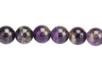 Perles rondes Ø 8 mm - Améthyste - 48 perles - Perles Lithothérapie 31058 - 10doigts.fr