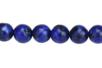 Perles rondes Ø 8 mm -Lapis Lazuli - 48 perles - Perles Lithothérapie 31057 - 10doigts.fr