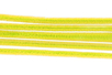 Chenilles jaune - Lot de 50 - Chenilles, cure-pipe 35126 - 10doigts.fr