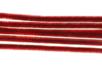 Chenilles rouge - Lot de 50 - Chenilles, cure-pipe 35128 - 10doigts.fr