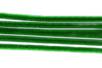 Chenilles vert foncé - Lot de 50 - Chenilles, cure-pipe 35130 - 10doigts.fr