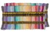 Échevettes de fils coton - 52 bobines pastel - Fils - 10doigts.fr