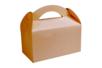 Boîtes à goûter en carton kraft - Lot de 6 - Boîtes en carton 34207 - 10doigts.fr