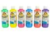 Peinture textile, flacon de 250 ml - 6 couleurs nacrées - Peinture Tissu - 10doigts.fr