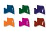 Marqueurs à laque - Set de 6 couleurs complementaires assorties - Marqueurs peintures 02987 - 10doigts.fr