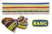 """Paracordes thème """"BASIC"""" - Set de 6 couleurs - Cordes Paracorde - 10doigts.fr"""