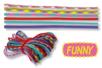 """Paracordes thème """"FUNNY"""" - Set de 6 couleurs - Cordes Paracorde - 10doigts.fr"""
