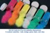 Paillettes ultra-fines - 6 couleurs iridescentes - Paillettes à saupoudrer - 10doigts.fr