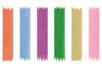Rubans organza 2 m (largeur 3 mm) - 6 couleurs - Rubans et ficelles - 10doigts.fr