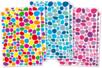 Gommettes mosaïques 3 couleurs assorties - 6 planches (900 gommettes) - Gommettes Mosaïques 18052 - 10doigts.fr