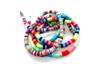 Perles rondelles Heishi couleurs assorties - 900 perles - Perles Heishi et coquillages 18830 - 10doigts.fr