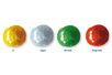 Stylos peinture 3D pailletées 30 ml - 4 couleurs - Stylos peinture 3D 19342 - 10doigts.fr