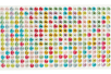 Strass adhésifs ronds 6 mm - 504 strass  - Stickers strass, cabochons 28128 - 10doigts.fr