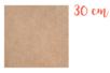 Support carré MDF 30 x 30 cm (Epaisseur : 5 mm) - Supports pour mosaïques 11326 - 10doigts.fr
