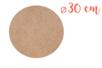 Support plat rond en Médium MDF ø 30 cm, Ep. 6 mm - Supports plats 11328 - 10doigts.fr