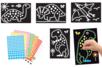 """Tableaux """"Dinosaures""""- Set de 4 tableaux - Kits activités carteries 18705 - 10doigts.fr"""
