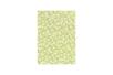 Tissu adhésif fleuri vert - Tissus adhésifs - 10doigts.fr