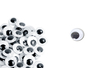 Yeux mobiles noirs Ø 10 mm - 100 yeux - Yeux mobiles 01793 - 10doigts.fr