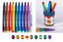 Feutres magiques Bicolores - 10 feutres - Feutres à effets - 10doigts.fr