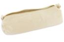 Trousse en coton naturel avec fermeture zippée - Coton, lin - 10doigts.fr
