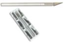 Cutter de précision et ses 6 lames - Cutters, massicot - 10doigts.fr