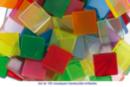 Mosaïque Acrylique - Finition transparente brillante - Mosaïques résine acrylique - 10doigts.fr