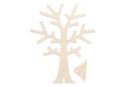 Arbre porte-bijoux en bois - 18 cm - Rangements - 10doigts.fr